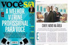 Criação feita para a matéria de Lucas Rossi, na edição desse mês da revista VOCÊ S/A. / VOCÊ S/A magazine.