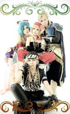 Final Fantasy VI Tina: Raile, Lock: Kippei, Edgar: Kuro Hitaka, Relm: Yayoi Tsukikage, Photo by Aya, Edit by Raile