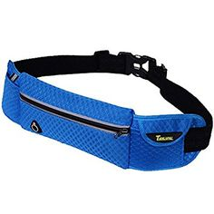 Motring Sports Running Lightweight and Breathable Sweat Belt Pouch for Men and Women Exercise, Running, Hiking, Cycling ,Traveling, Jogging-Fits Every iPhone (Blue)