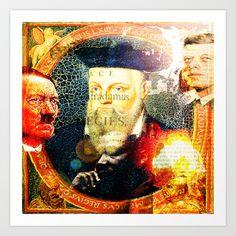 Nostradamus Art Print by ganech - $16.64