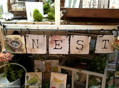 Love this Nest Sign!!