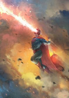 Superman fan art...wish I knew the artist.