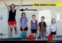 Primo giorno di scuola - via FattoMatto.com - #FattoMatto