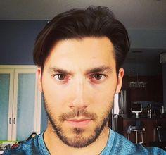 Kris Letang short hair selfie