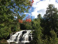 Bond Falls in Eagle River,WI