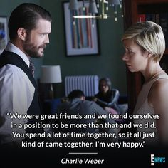 How to get away with dating your co-star: Frank & Bonnie are a RL couple & we can't get enough of Charlie Weber gushing about Liza Weil. Do we credit Annalise Keating as matchmaker or would she object? (📷: ABC)