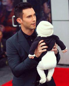 Adam Levine and his daughter Dusty Rose Levine