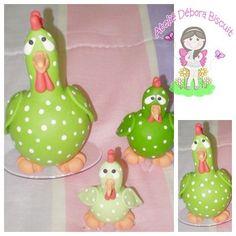 galinhas de Biscuit