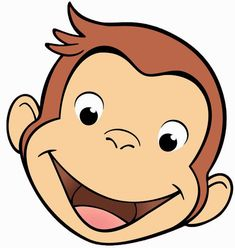 Curious George Clip Art | Curious George DIY Birthday Party- Invitations