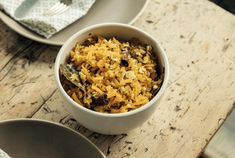 Shredded butternut squash and coconut saute with nigella seeds + cinnamon, via Modern Farmer