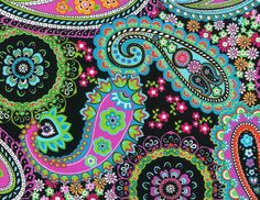 I love paisley...i wish all my shirts were paisley ☺