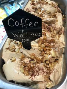 A delicious combination! Artisan Ice Cream, Make Ice Cream, Treats, Cakes, Breakfast, Desserts, Recipes, Food, Dessert