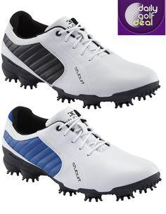 PRICE DROP: Stuburt Sportlite Golf Shoes – White/Black or White/Blue – UK 6 – 7.5 Available http://dailygolfdeal.co.uk/deals/deals/stbrtsportltglfshs/