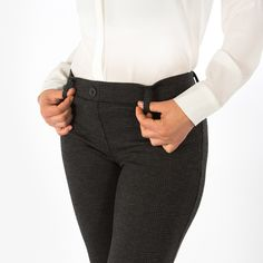 womens black Yoga pants that are work appropriate dress pants
