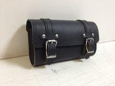 Motorcycle Forks Leather Bag