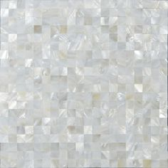"White mother of pearl shell tiles mosaic sheets seamless square 3/5"" natural shell tile backsplash for kitchen and bathroom wall tiles ST076; Size: 300x300x8mm; Color: White; Shape: Square; Usage: Backsplash & Wall"