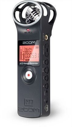 The Zoom H1 Portable Audio Recorder. (#NewMediaScholar Review)