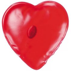"""Gel-Wärmekissen """"Herz"""" (rot, Kunststoff) als Werbegeschenke auf GIFFITS."""