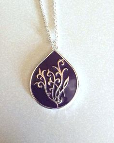 Purple Branded Necklace- Set of 5 | Cents Of Style
