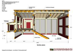 - Chicken Coop Plans Construction - Chicken Coop Design - How To Build A Chicken Coop It can comfortably hold 15 chickens . Chicken Coop Designs, Chicken Coop Plans Free, Chicken Shed, Easy Chicken Coop, Clean Chicken, Building A Chicken Coop, Architectural Shingles, Chickens Backyard, Planer