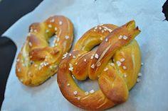 Soft pretzels! Perfect for Super Bowl!