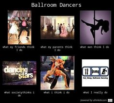Dance - ballroom dancers