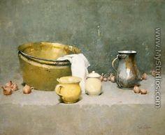 Still Life by Emil Carlsen - MyStudios.