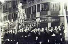 Procesión de los Estudiantes calle Larios MÁLAGA