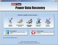 A better data recovery software than Undelete Plus, MiniTool Power Data Recovery, to undelete data in different situations.