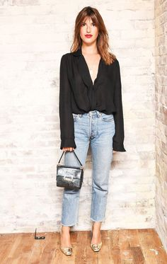 All the French Fashion Tricks You Can Steal From Jeanne Damas via @WhoWhatWearUK #streetstylefashion,