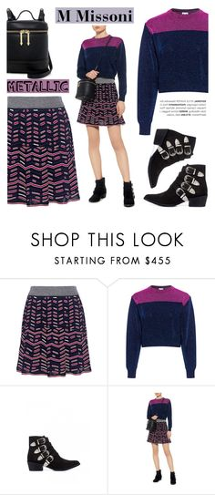 """""""M Missoni/Metallics"""" by ifchic ❤ liked on Polyvore featuring M Missoni, Toga, Karen Walker and contemporary"""