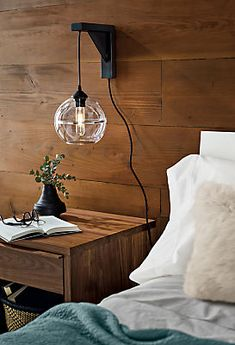 Youngsters Area Home Furnishings Tandem Wall Mount - Modern Bedroom Lighting - Modern Lighting - Room and Board Sconces Living Room, Wall Decor Bedroom, Bedroom Wall, Living Room Lighting, Modern Bedroom Lighting, Wall Mounted Lamps, Wall Mounted Light, Home Decor, Modern Bedroom Furniture