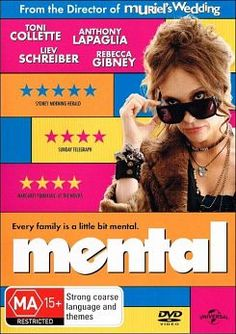 Mental:: one of the best movies iv watched in a long time. If your into Australian humor and the amazing Toni Colette then watch this movie! Anthony Lapaglia, Muriel's Wedding, Movie Archive, Rainy Sunday, Good Movies, Movies And Tv Shows, Movie Tv, Comedy, Good Things