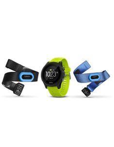 Garmin Forerunner 935 Tri Bundle GPS Watch with Heart Rate Monitor - Lime Smartwatch, Emporio Armani, Cool Watches, Watches For Men, Casual Watches, Popular Watches, Running Watch, Running Gps, Android Watch
