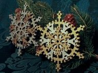 steampunk christmas ornaments -