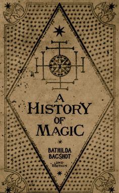 The History of Magic - a Hogwartz textbook.