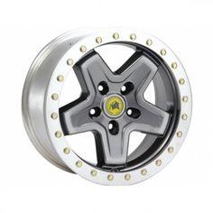 AEV 17x8.5 Beadlock Wheel Argent