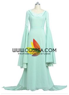Lord Of The Rings Arwen Cosplay Costume