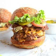 Spicy, succulent beef burger with beer & jalapeno cheese, spicy candied bacon and chimichurri mayonnaise!