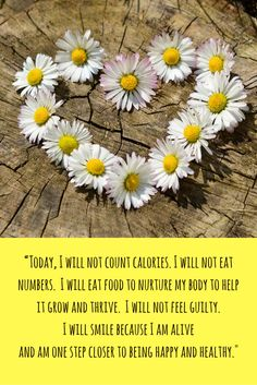 Equally important for people considering a diet as well as those recovering from an eating disorder.