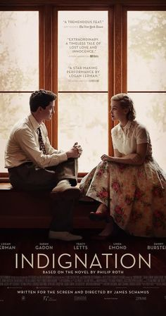 """Indignation Movie - """"Based on Philip Roth's late novel, Indignation takes place… Film Movie, Cinema Movies, Hd Movies, Movies Online, Philip Roth, Night Film, New Jersey, Movie Posters 2016, Romance Books"""