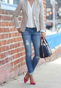 877cd150003 Best Work Outfit Ideas To Pair With Loafers 03 Cómo Combinar