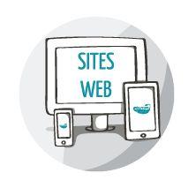 Sites web Créa-Plume Design Graphique. Conception de supports de communication crea-plume.com