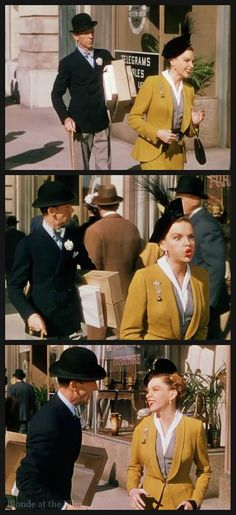 Easter Parade: Fred Astaire and Judy Garland                                                                                                                                                      Mais