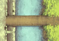 The East Bridge, a FREE battle map for D&D / Dungeons & Dragons, Pathfinder, Warhammer and other table top RPGs. Tags: road, highway, city, town, settlement, river, canal, waterway, dock, encounter