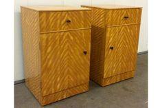 #ArtDeco Bedside Cabinets | Vinterior London  #design #interiors #vintage #home #french #1930