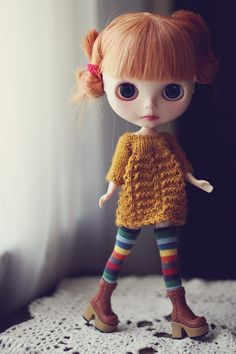 Would it be wrong if I started to fashion myself after Blythe doll mods. Toy Art, Rainbow Socks, Barbie, Creepy Dolls, Little Doll, Hello Dolly, Custom Dolls, Ball Jointed Dolls, Doll Face