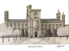 Frederic Kohli - Smithsonian Castle