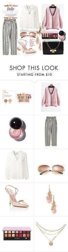 """elegant outfit"" by aletraghetti on Polyvore featuring moda, BHCosmetics, River Island, Erin Fetherston, Giambattista Valli, Avon, Chanel y Elegant"