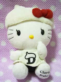 "Cherie Dolce x Hello Kitty plush doll Toy Sanrio Japan 2009 NEW SUPER RARE! 11"" *SOLD OUT!*"
